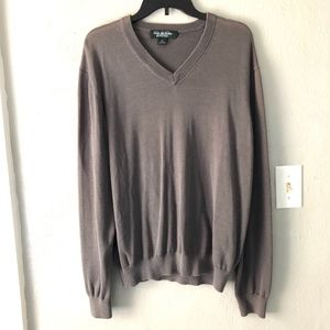 Brooks Brothers Country Club V-Neck Sweater Men XL